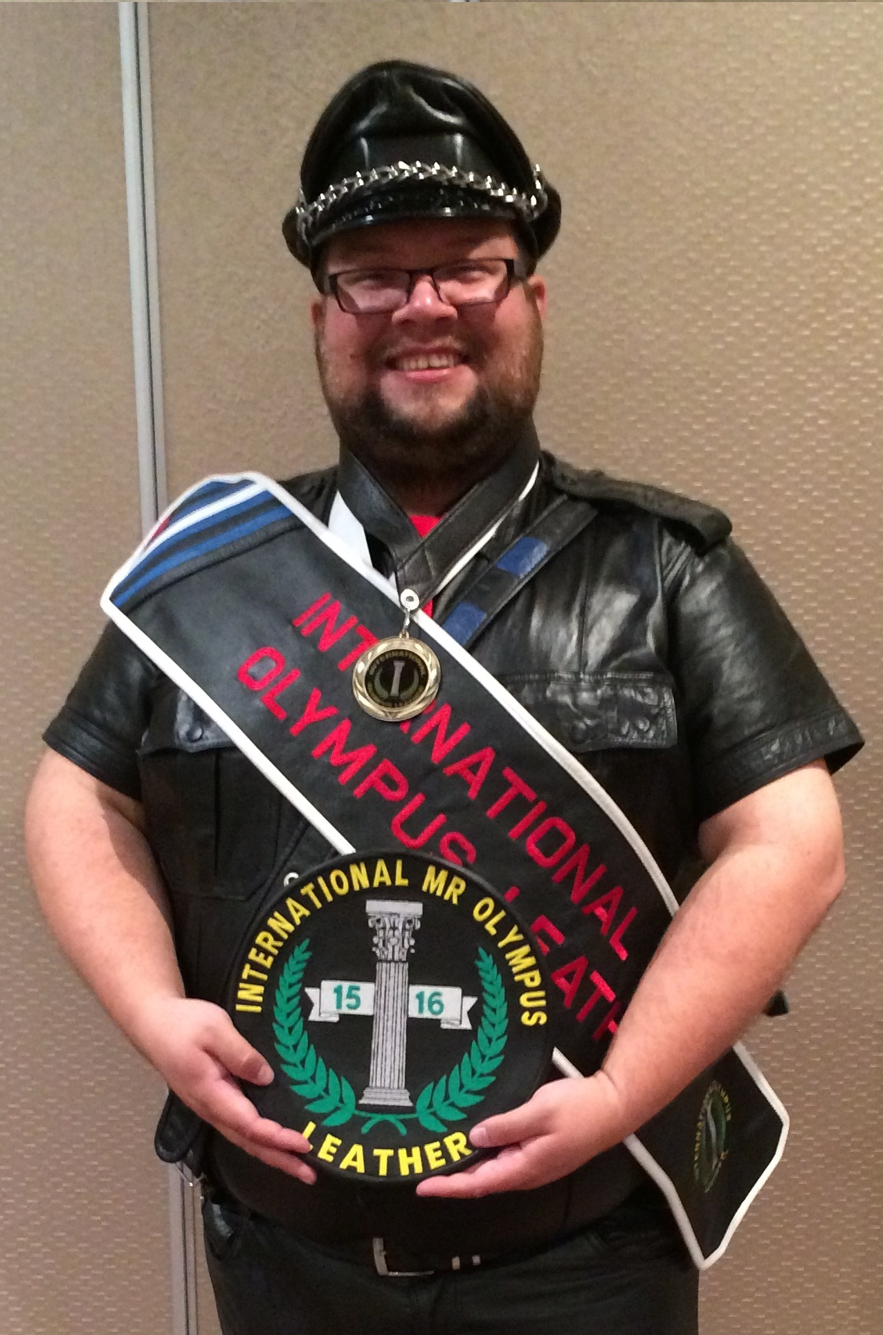 2015 International Mr. Olympus Leather Fred Anderson